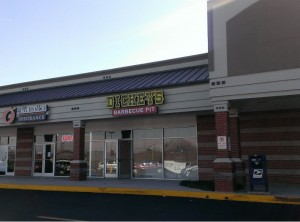 New Hwy 5 location for Dickeys BBQ Pit.