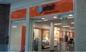 AT&T's new phone and U-verse location.