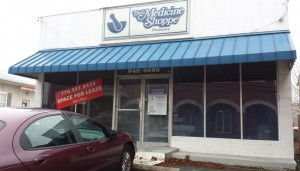 The now closed Medicine Shoppe on Church St.