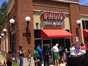 An Uncle Maddio's Pizza Joint near The Mall of Georgia