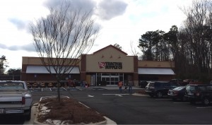 The New Douglasville Tractor Supply location.