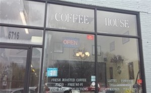 Downtown's newest coffeehouse and eatery.