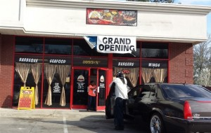 The new Cozy Floyds BBQ location off Hwy 78.