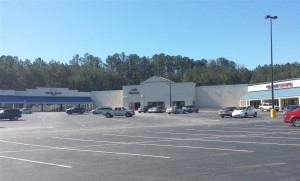 The Former Roberts Furniture Store, now occupied by Andys Wholesale.