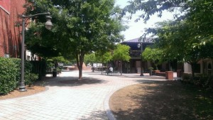 Beautiful O'Neal Plaza, home to Taste of Douglasville this weekend