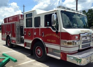 The newest member of the Douglas County Fire and EMS, replacing an aging engine.