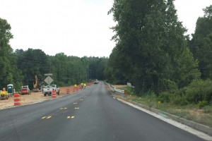 The Chapel Hill Rd Culvert project by WSA is almost complete