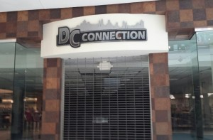 New offering DC connection, next to Sears on the first floor.