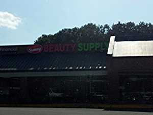 The new Sunny Beauty Supply opening at Park Place on Hwy 5