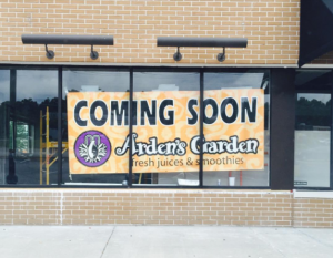 Arden's Garden Juice and Smoothies coming soon on Douglas Blvd