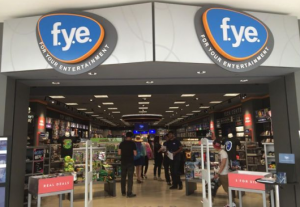 A new FYE concept store, more compact and returning soon to Arbor Place