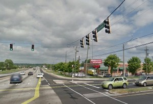 The Intersection of Maxham Rd and Thornton Rd, Google Image.