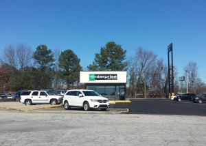 Enterprise Rent A Car moves to their new home on Hwy 5.