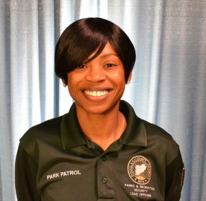 Chesity Hurston named new county Parks Security Coordinator.