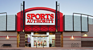 Sports Authority retailer. Photo Credit: Sports Authority