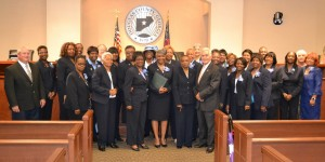 Les Soeurs Club of Douglas County with the Douglas County Board of Commissioners