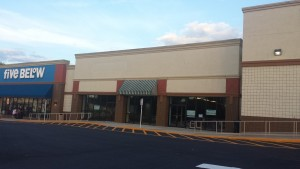The new home for Shoe Carnival on Chapel Hill Rd