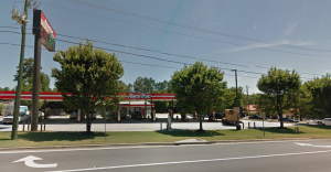The old look of the RaceTrac on Thornton Rd. Photo Credit: Google