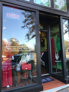 The new Twelve Chic Boutique in Downtown Douglasville